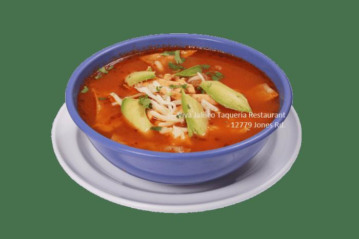 Sopa de Tortillas - Viva Jalisco Restaurant