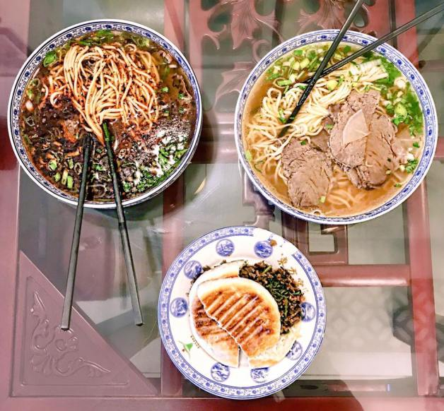LANZHOU NOODLES AND CLIP BUN!