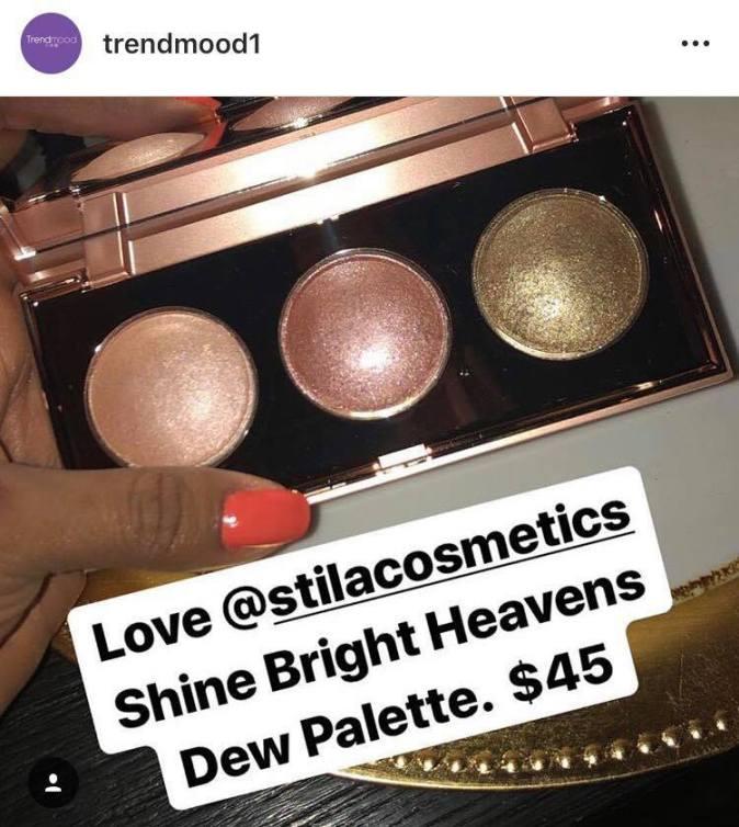 stila cosmetics palette