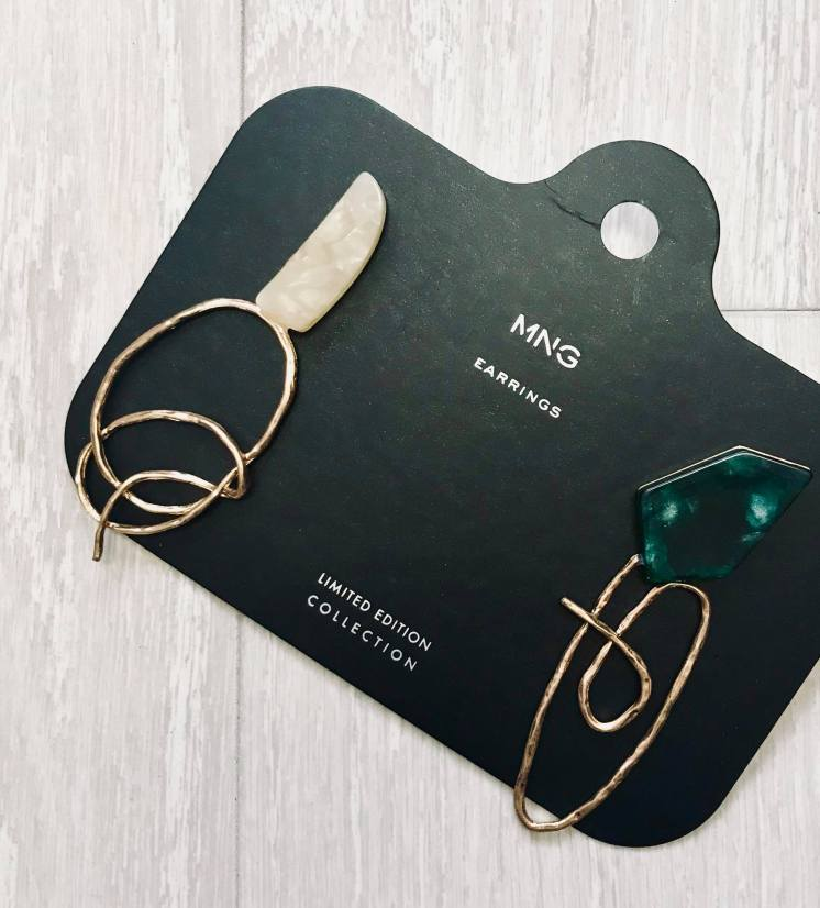 mixed earring