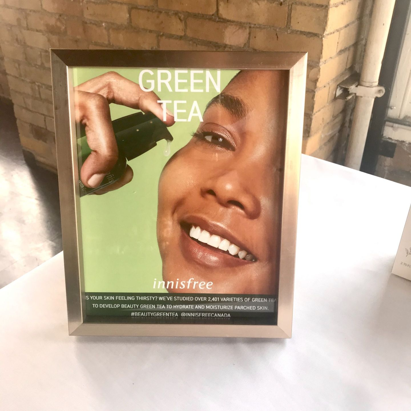 Innisfree Media Event Green Tea