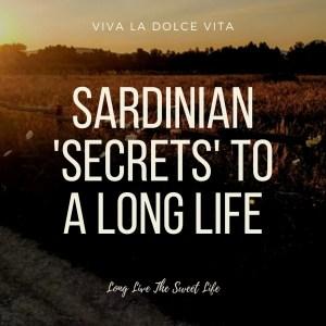 Sardinia Long Life