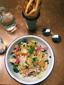Chicken Salad & Fries