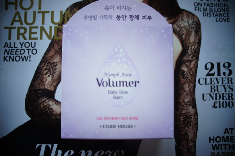 Etude House Nymph Aura Volumer Baby Glow Balm Review