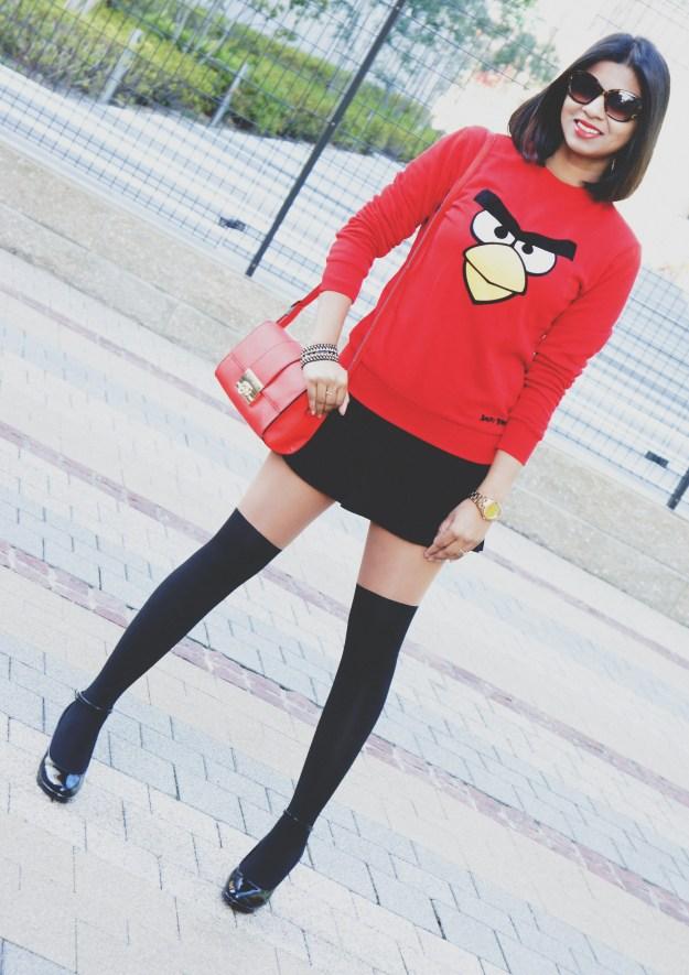 2014 Trend :  Angry Bird Sweatshirts