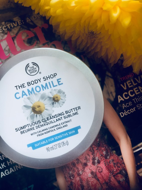 The Body Shop ザ・ボディショップ Camomile Sumptuous Cleansing Butter Review