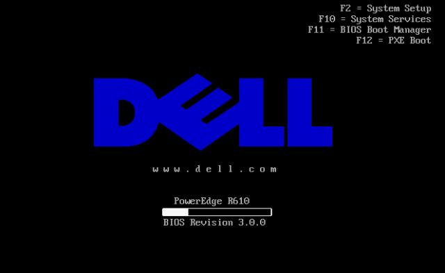 boot inicio DELL