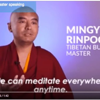 Meditating can be so simple