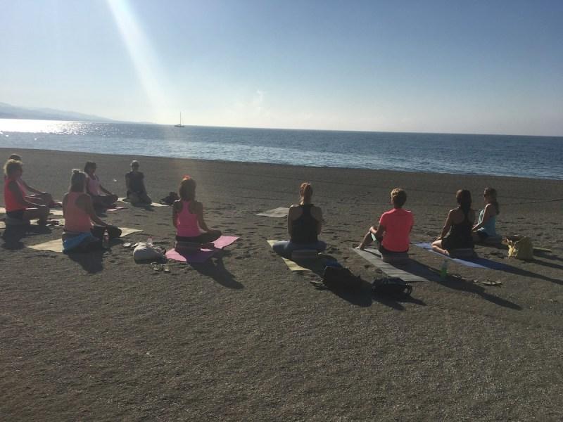 yoga beach retreat spain viva la vida