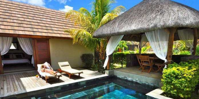 luxury villa unlimited spa treatments