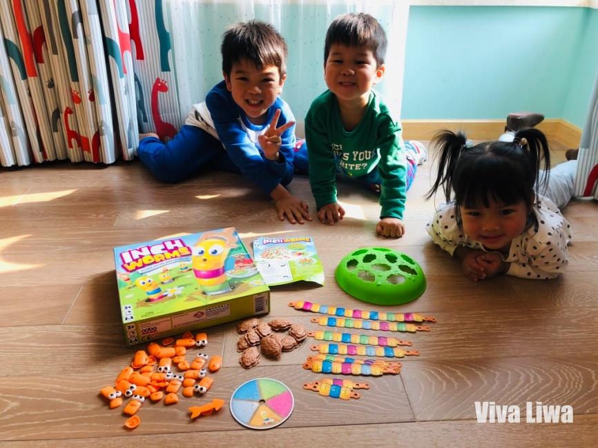 蟲蟲量身高:2歲就能建立測量的概念,趣味十足|小康軒數學桌遊