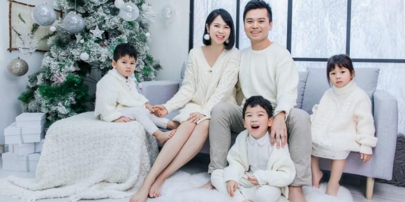 龍鳳3歲紀念與結婚9週年全家福|上海Queen's Baby