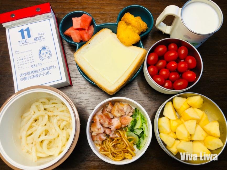 40分鐘內同時料理全家早餐和小童便當的方法