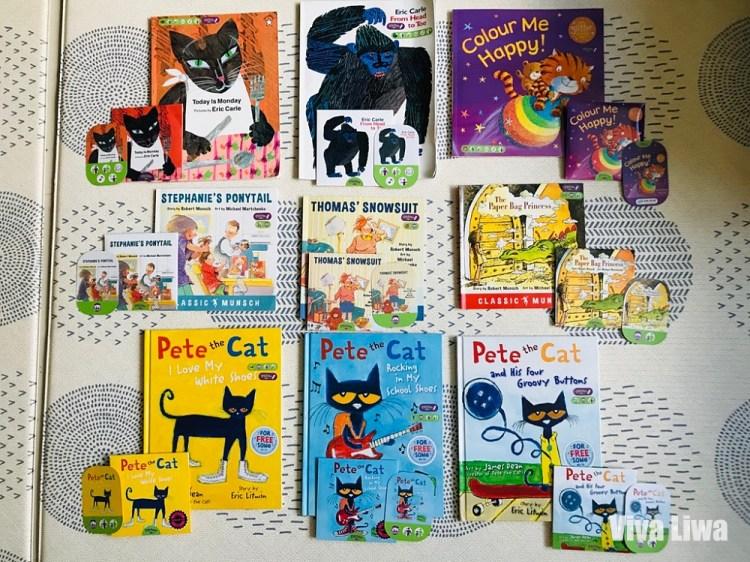 有聲書|英文繪本|9本Pictory英文經典點讀繪本介紹|KidsRead點讀筆