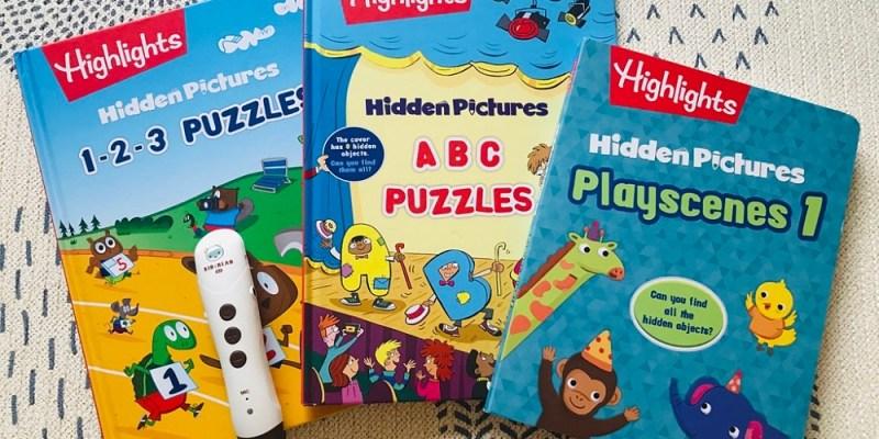 兒童英文教材 Highlights Hidden Pictures 訓練觀察力:英文找找點讀遊戲書 KidsRead點讀筆