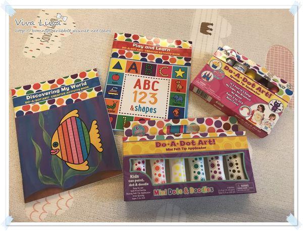 【好物】(團購)Do-A-Dot ART! 讓小童會有強迫症一直狂點的點點畫筆(7/31~8/8)