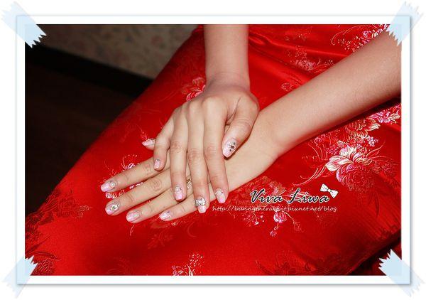 [女昏] 要美到連指尖也不能放過-新娘光療指甲分享