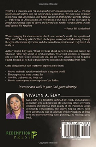The book Who Am I by author Vivalyn Elvy