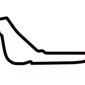 Monza current layout F1 decal