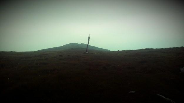 Und dann ist er plötzlichg da - der letzte Berg - Kralova Hola.