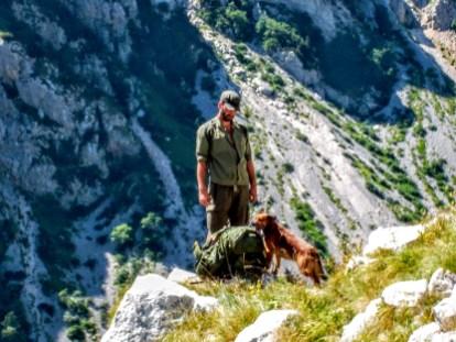 Von den wilden Bergen Montenegros....