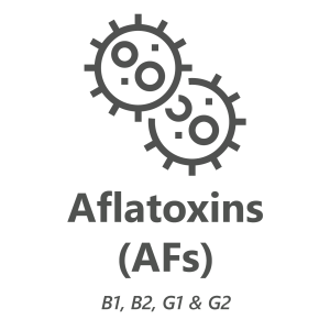 Web store icon for Aflatoxins chemistry test.