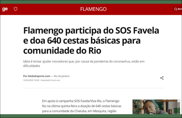 Site GloboEsporte – 10-4-2020