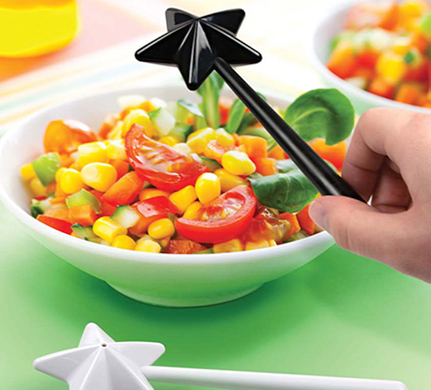 Magic Wand salt and pepper shakers.