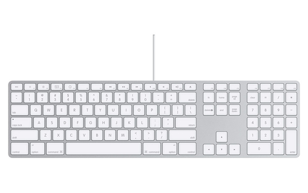 Numberpad is on the righthand side of keyboard