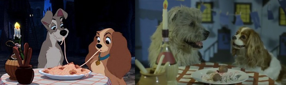 """The Lady and the Tramp"" - Tramp and Lady"