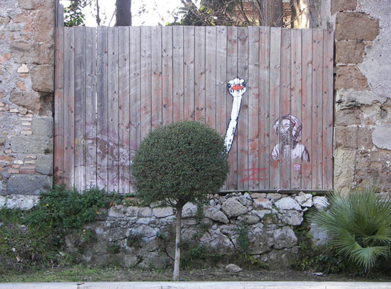 street art interacts with nature 5