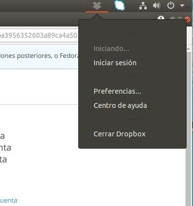instalar dropbox en ubuntu 18.04 desde repositorio inicio de sesión