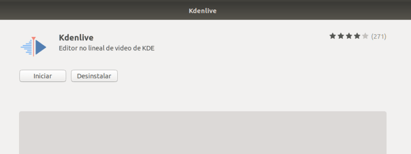 Instalar kdenlive en ubuntu 18