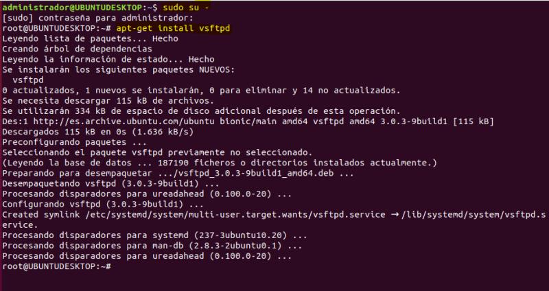 INSTALAR SERVIDOR FTP EN UBUNTU PASO A PASO