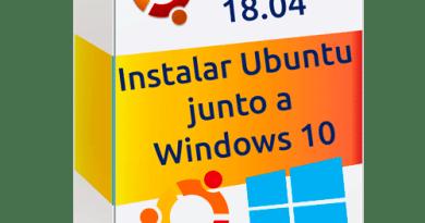 instalar ubuntu junto a windows 10