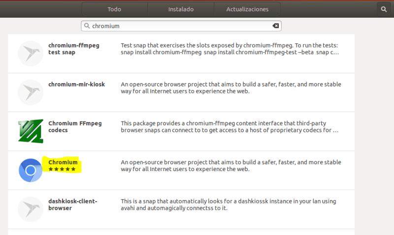 instalar chromium en ubuntu_software de ubuntu