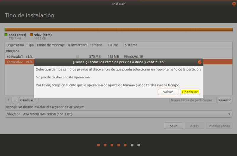instalar ubuntu junto a windows 10 _ particion_03