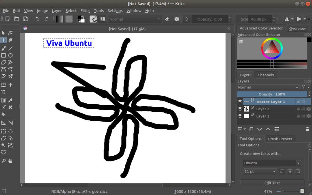 instalar krita en ubuntu_interfaz gráfica 01