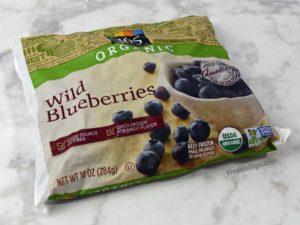 Picture of organic wild frozen blueberries