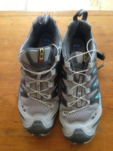 New hikers. Someone bought them and donated them because I guess they gave up on walking. I'm giving them to Lemony.