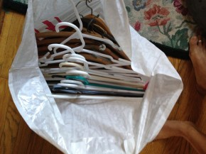 Bag of hangers (10) DONATE