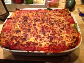 A lasagna for weary friends.