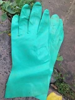 More gloves. TRASH.
