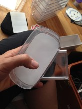 Clear boxes that Apple stuff came in. TRASH.
