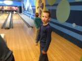Scrote bowled a good game.