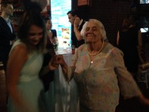 My favorite image, Grandma dancing with Ellie