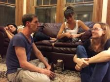 David, Maddie and Nina