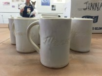 Mugs I made for Pole Theater