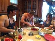 Alex requested steamed dumplings
