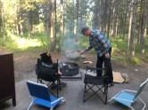 We had a weenie roast